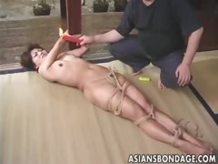Fetish Gorgeous Japanese Oriental Slave Asian Bondage