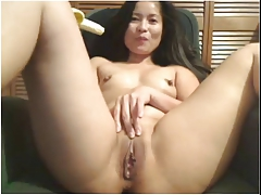 Asian Cum Jerking Mature Oriental