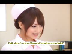 Teen Teasing Oriental Nurses Natural Gorgeous Doctor Cute Babe