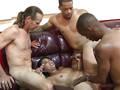 Asian Gangbang MILF Office