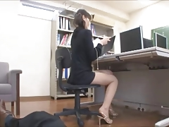 Asian Japanese Office Voyeur
