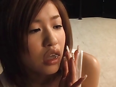 Chick Erotic Gorgeous Japanese Pornstar Tits