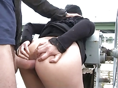 Mature Asian Pornstar Outdoor MILF
