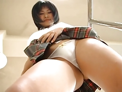 Asian Japanese Skirt Tease Voyeur