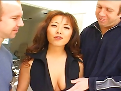 Anal Asian MILF Threesome