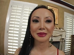 Asian Cougar Cum Cumshot Mature MILF Pornstar
