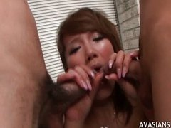 Amateur Asian Huge Cock Japanese Pleasure Threesome