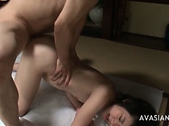 Amateur Anal Asian Ass Cum