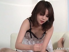 Asian Cum Cute Handjob Teen
