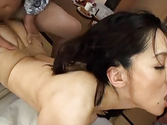 Asian Japanese Mature MILF Threesome
