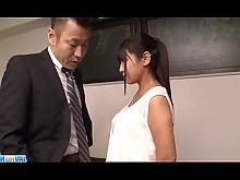 Office Pussy Shaved Sucking Tits Asian Deepthroat Dick Fingering
